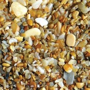 Грунт декоративный (мелкие морские камешки и ракушечник)