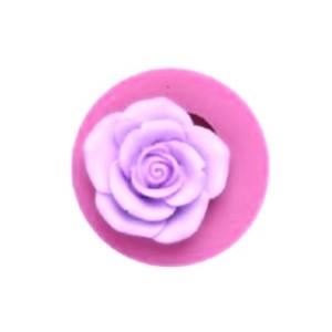 Молд силиконовый роза средняя, d 56 мм x 19 мм