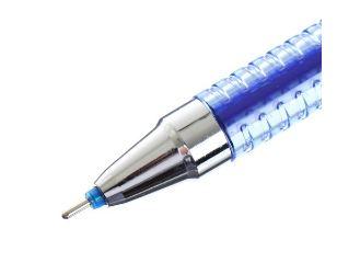 Ручка пиши-стирай гелевая (синие чернила) с ластиком