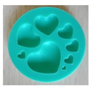 Молд силиконовый «сердечки»