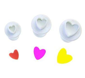 Плунжеры сердечки в наборе