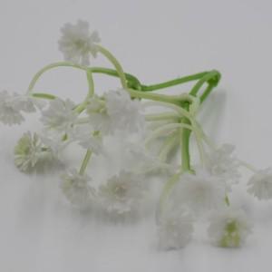 Искусственная зелень гипсофила соцветие тройное №73207