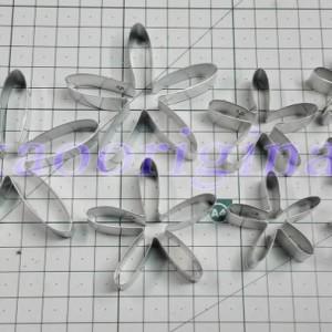 Каттеры астра, хризантема, ромашка №3510