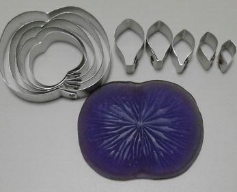 Каттеры лотос/водяная лилия с молдом в наборе