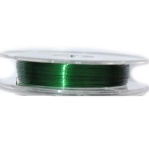 Проволока гибкая зеленая в катушке 10 м