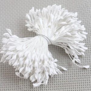 Тычинки пастельный белый, связка более 700 головок