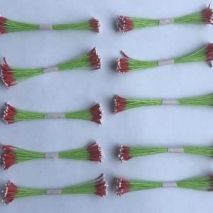 Тычинки тайские длинные двухцветные,10 пучков, 8 см