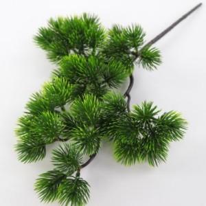 Искусственная зелень ветка бонсай сосна