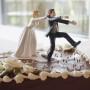 Силиконовый молд женская и мужская фигура на торт